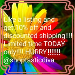 SALE TODAY WITH SHIPPING DISCOUNT!!!!!!!